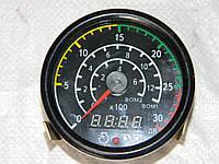 Тахометр электронный со счетчиком моточасов 12V