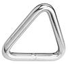 Нержавеющее сварное, полированное кольцо треугольное