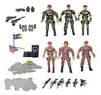 Игровой набор солдатиков 8810, 6 шт. KHT