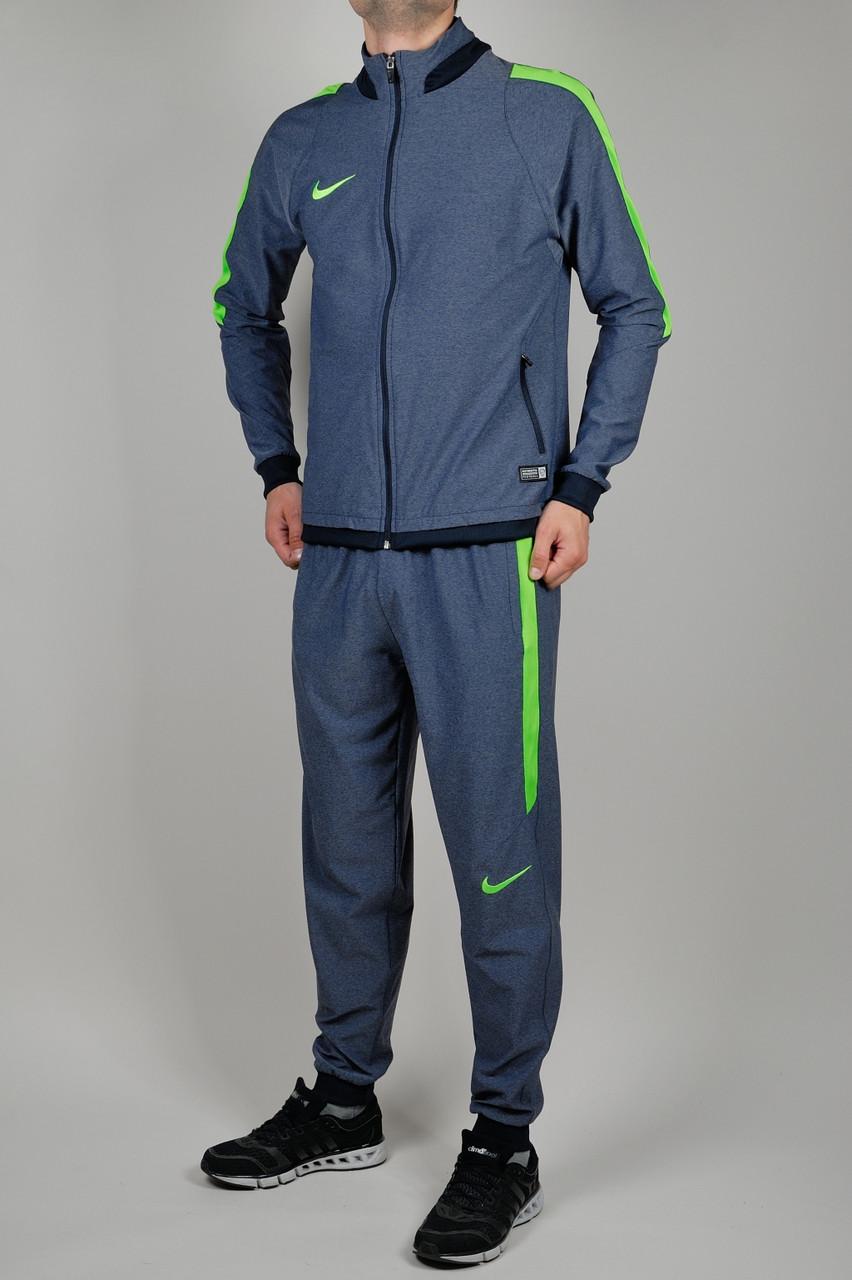 be801f3a Летний спортивный костюм мужской Nike 1674 Тёмно-синий - Брендовая одежда от  интернет-магазина