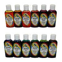 Набор красок для горячего батика «ТЕСС», 12 цв. по 50 мл