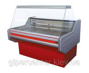 Морозильная витрина Айстермо ВХН КЛАССИКА 1.2 (-12…-15˚С, 1200х1000х1200 мм, прямое стекло), фото 2