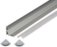 Алюминиевый профиль для светодиодной ленты CП17