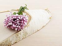 Тычинки бутоньерки нежно-розовые (6 шт)