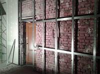 Монтаж гипоскартона на стену