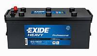 Аккумулятор EXIDE PROFESSIONAL 180Ah-12v (513x223x223) левый +