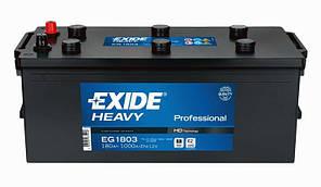 Акумулятор EXIDE PROFESSIONAL 180Ah-12v (513x223x223) лівий +