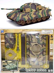 Сборная модель Heavy Metal 61515 танк KING TIGER на батарейке 1:32
