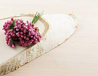 Тычинки бутоньерки розовые (6 шт)