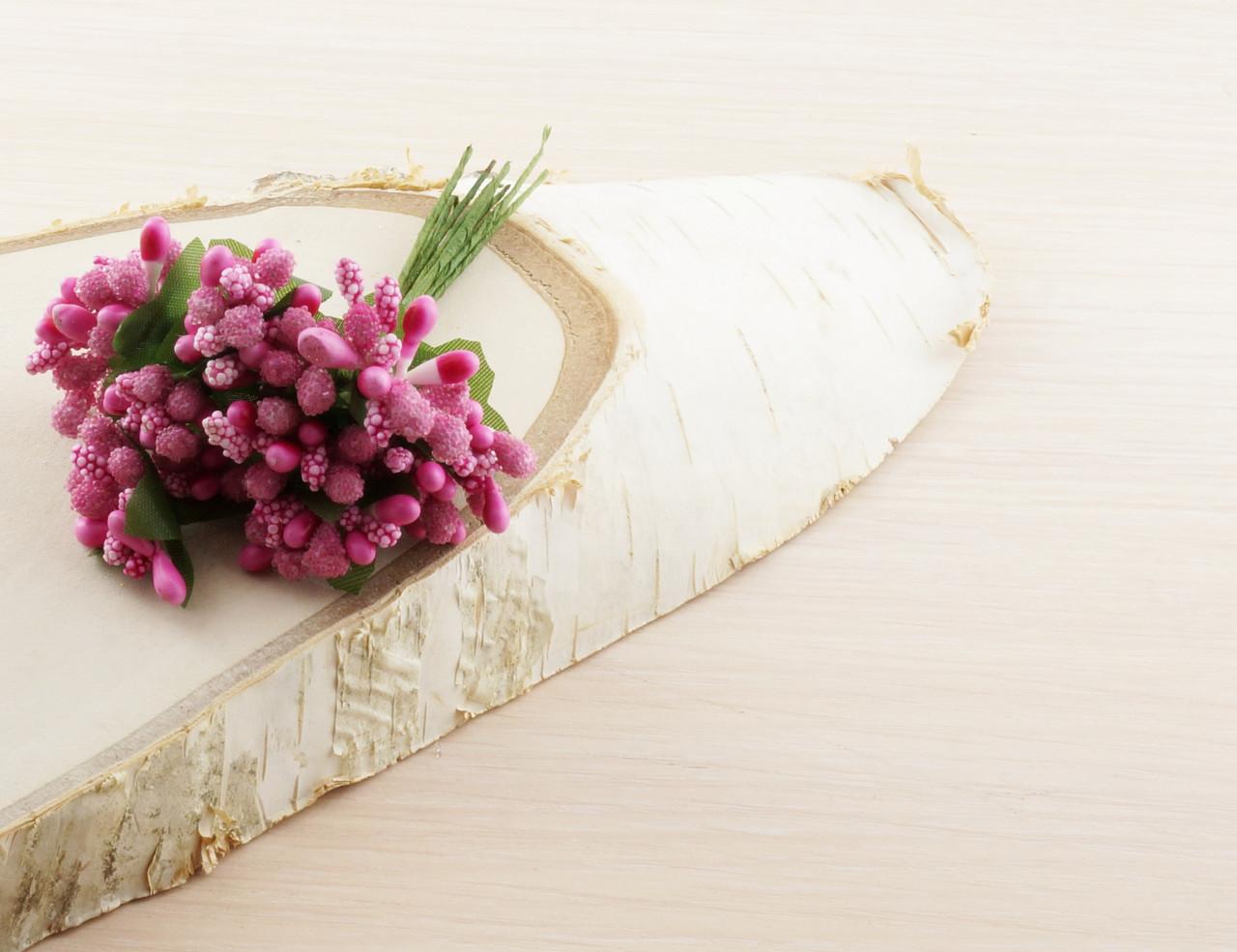 Тычинки бутоньерки розовые (6 шт) (товар при заказе от 200 грн) - магазин-студия Цацки в Чернигове