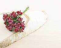 Тычинки бутоньерки красные (6 шт)