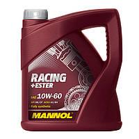 Моторное масло Mannol Racing+Ester 10W-60 208л