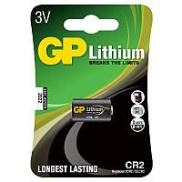 Батарейка для фотоаппаратов GP CR123 U-1 Lithium (DL123А, 3V)