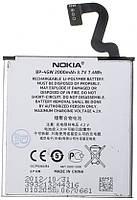 Аккумулятор для Nokia Lumia 920, 920.2, 920T, Nokia Phi оригинальный, батарея BP-4GW