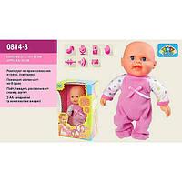 Кукла функциональная 0814-9 танцует, смеется, реагир.на хлопок в кор.