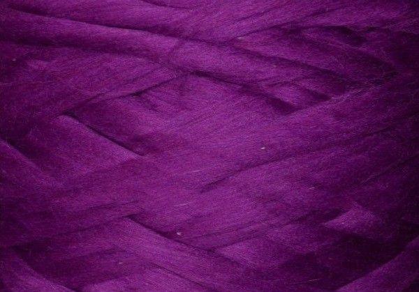 Толстая, крупная пряжа 100% шерсть 100г (4м). Цвет: Ирис. 25 мкрн. Топс. Лента для пледов