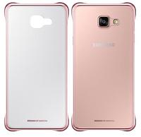 Чехол для Samsung Galaxy A7 (A710 2016) - Samsung Clear Cover, розовое золото (EF-QA710CBEGRU)