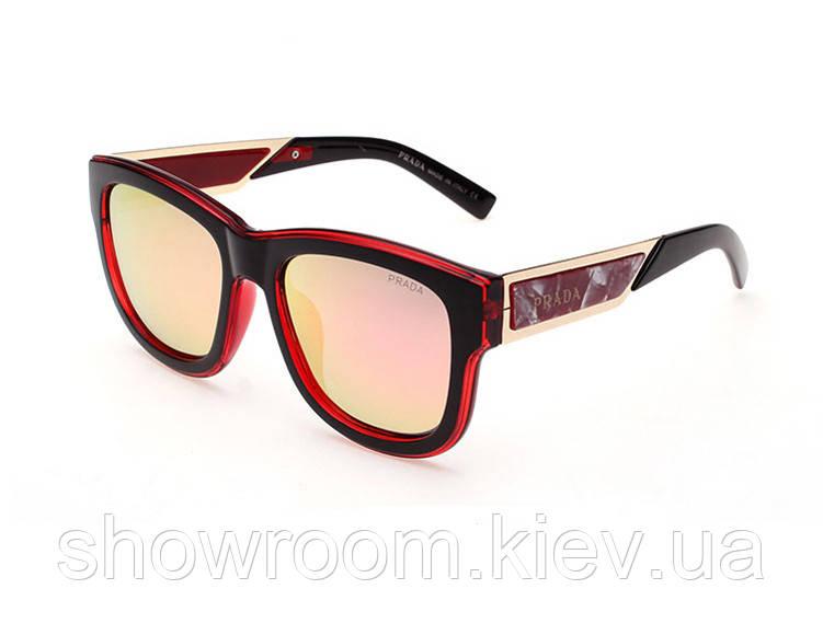 Солнцезащитные очки в стиле PRADA (15005) red