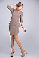 Платье из плотной ткани креп-дайвинг