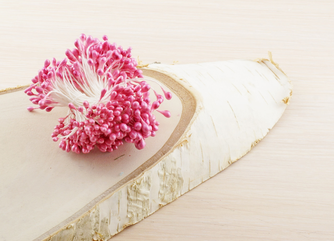 Тычинки на нитке розовые (1 уп.=160тыч.) (товар при заказе от 200 грн) - магазин-студия Цацки в Чернигове