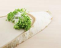Тычинки на нитке салатовые (1 уп.=160тыч.)