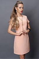 Обалденное летнее платье нежно розовой расцветки