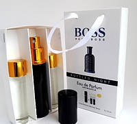 Мужской мини парфюм Hugo Boss Bottled Night (Хьюго Босс Ботл Найт) 3*15мл