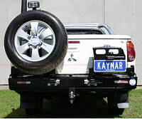 Задний защитный бампер KAYMAR MITSU L200 06+