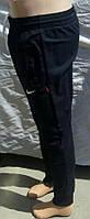 Штаны Найк темно синий цвет трикотажные, фото 1
