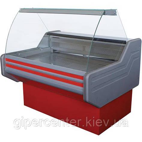 Морозильная витрина Айстермо ВХН ЭЛЕГИЯ 2.0 (-12…-15˚С, 2000х1000х1200 мм, гнутое стекло), фото 2
