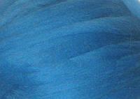 Толстая, крупная пряжа 100% шерсть мериноса. Цвет: Небесный. 26-29 мкрн. Топс.