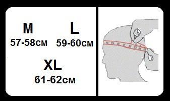 Размерная сетка кепки Ястребь
