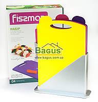 Набор пластиковых разделочных досок 23х32 см (3 шт./наб.) Fissman (AY-7241.CB)