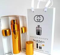 Мужской мини парфюм Gucci Guilty Pour Homme (Гуччи Гилти Пур Хом) 3*15мл
