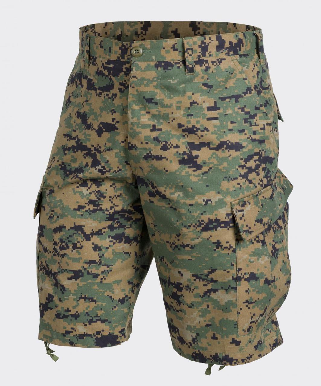 Шорты тактические Helikon-Tex® ACU Shorts NyCo Twill - Digital Woodland