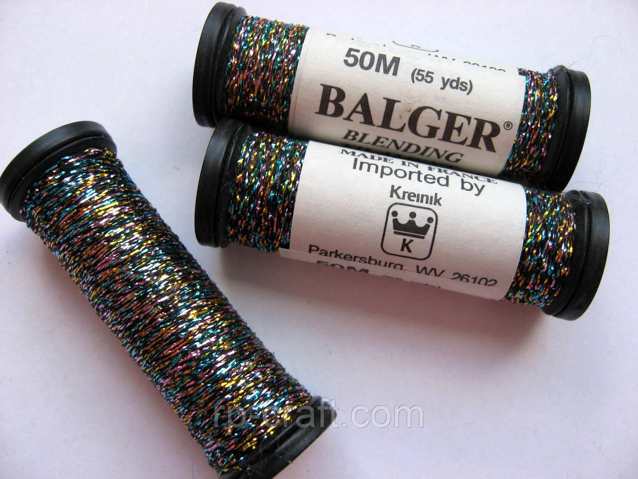 Нитки для вышиваня Kreinik blending filament Confetti 034