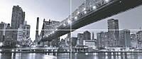 Polcolorit панно Polcolorit Fortuna Digital  50x120 NYC