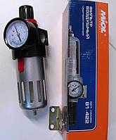 Фильтр воздушный 1/2 с редуктором и манометром Miol 81-422