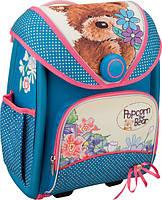 """Рюкзак ортопедический с магнитным замком Kite 505 Popcorn Bear """"Трансформер"""" для девочек (PO16-505S)"""