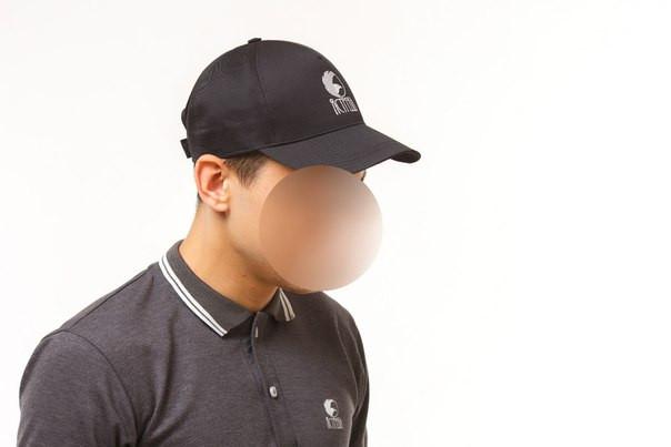 """Бейсболка """"Ястребь"""" черная, кепка"""