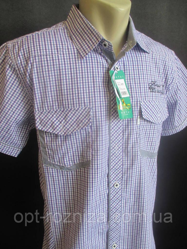 Рубашки в мелкую клетку на лето для мужчин.
