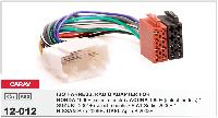 ISO Переходник HONDA /ACURA /SUZUKI /OPEL Agila B /FIAT Sedici /NISSAN Pixo, CARAV 12-012