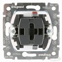 Legrand механизм выключателя Legrand Galea Life 1 кл., 10 А, черный (775801)