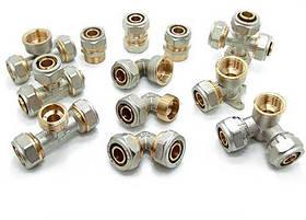 Фитинги для металлопластиковых труб Forte усиленные