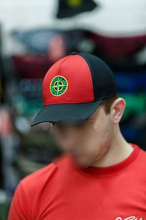 "Бейсболка ""Ястребь"" крас-черная, кепка, фото 2"