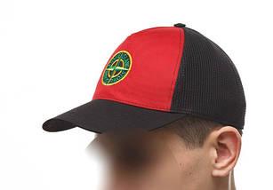 "Бейсболка ""Ястребь"" крас-черная, кепка, фото 3"