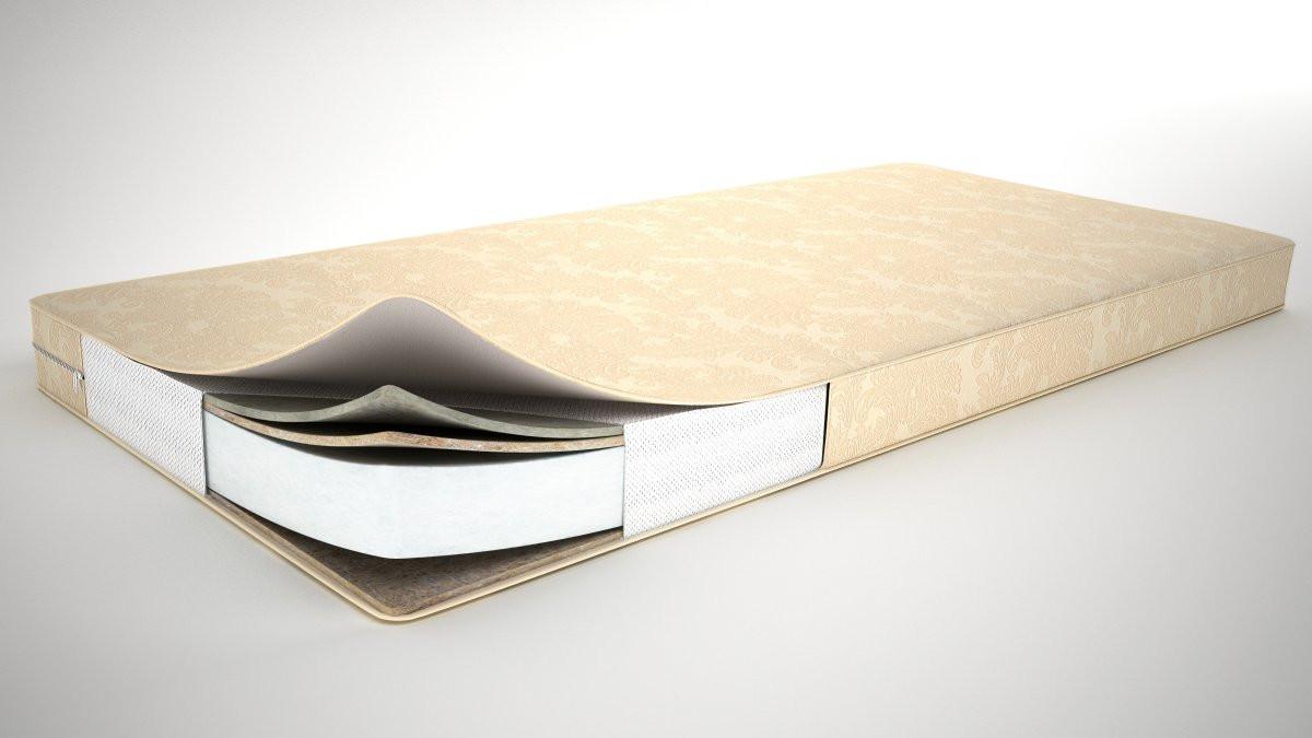 Прямоугольной формы подростковый матрас для кровати «Junior лен» 10 см 160/70