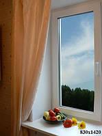 Окно металлопластиковое 830х1420мм поворотно-откидное