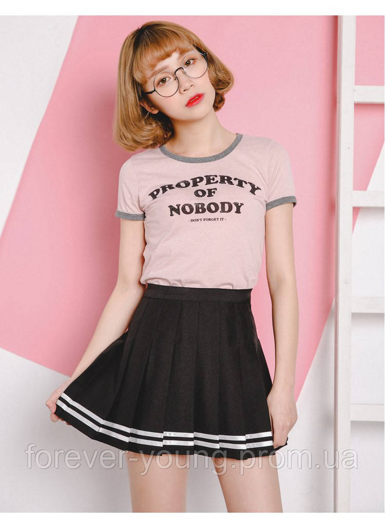 2210bb90326 Теннисная юбка с белыми полосками - Интернет-магазин