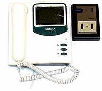 Видеодомофон IV 200 LCD цветной Sharp, цветной видеодомофон с камерой Sharp, домофон с видеонаблюдением